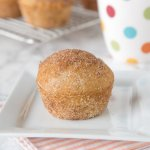 Cinnamon Muffins - light and fluffy muffins coated in cinnamon and sugar