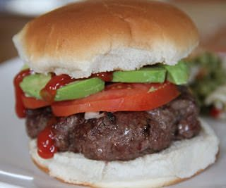 Easy grilled hamburgers are the perfect way to welcome spring!