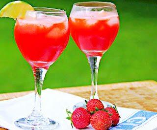 Strawberry Aqua Fresca and a Winner!!