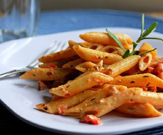Creamy Penne with Sausage