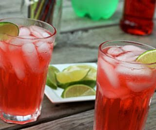Cherry Limeade Cocktail with Chef Dennis