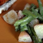 Roasted Potatoes and Green Beans – Tastemaker