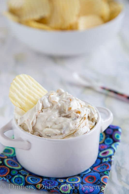 Caramelized Onion Dip – a homemade onion dip that is so much better ...
