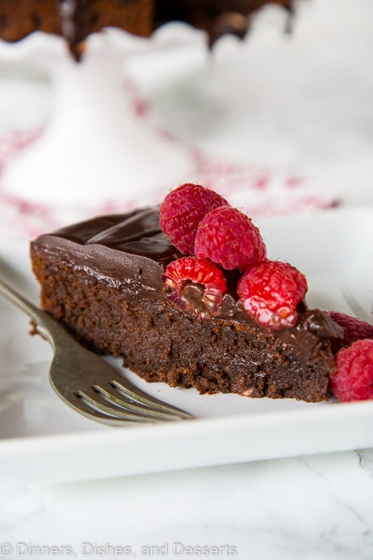 Flourless Nutella Cake A Rich And Fudgy Chocolate Full Of Top