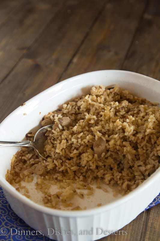 The Rice - a family recipe that is a great side dish for the whole family.