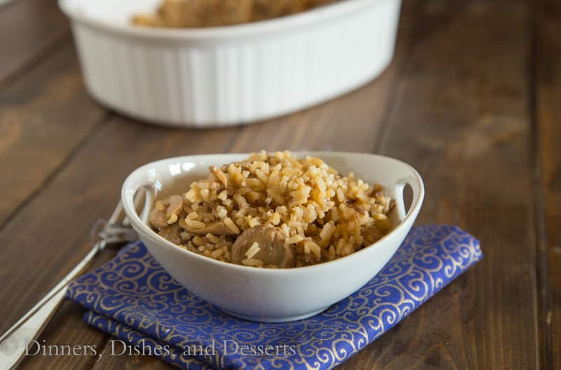 The Rice {Dinners, Dishes, and Desserts}