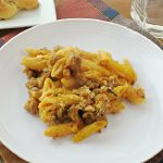 Pumpkin and Sausage Baked Pasta