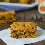 Pumpkin Chocolate Chip Bars - a great fall treat