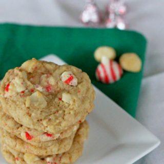 Hershey's Peppermint Macadamia Nut Oatmeal Cookies
