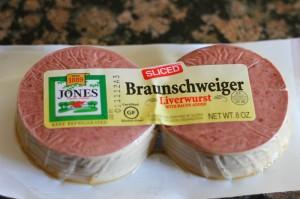 package of Braunschweiger