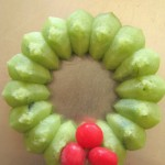 one Holly Wreath cookie