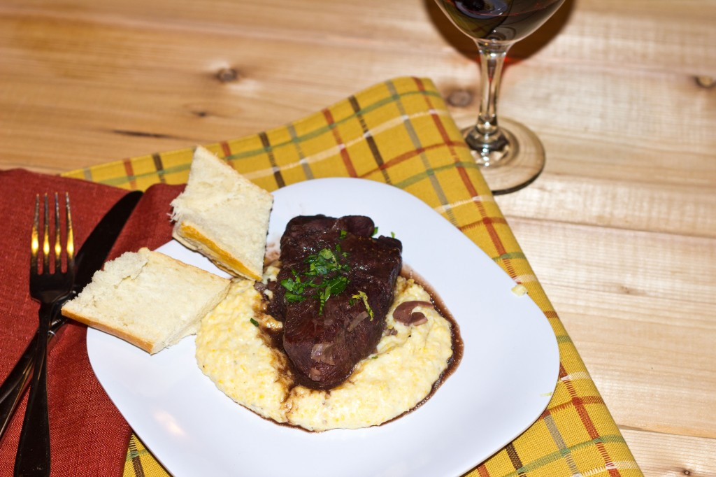 Cabernet Braised Short Ribs with Creamy Polenta - Dinners, Dishes, and ...