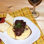 Cabernet Braised Short Ribs with Creamy Polenta