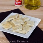 Rosemary Olive Oil Crackers