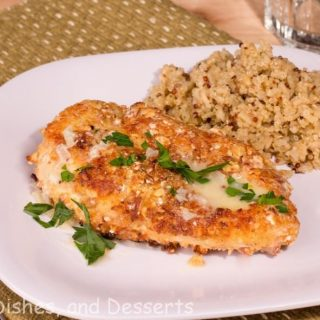 Jordan Almond Crusted Chicken
