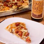 Caramleized Onion and Andouille Pizza