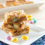 Butterscotch M&M Bars