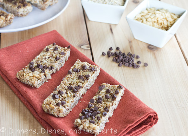 No Bake Chewy Granola Bars | Dinners, Dishes, & Desserts