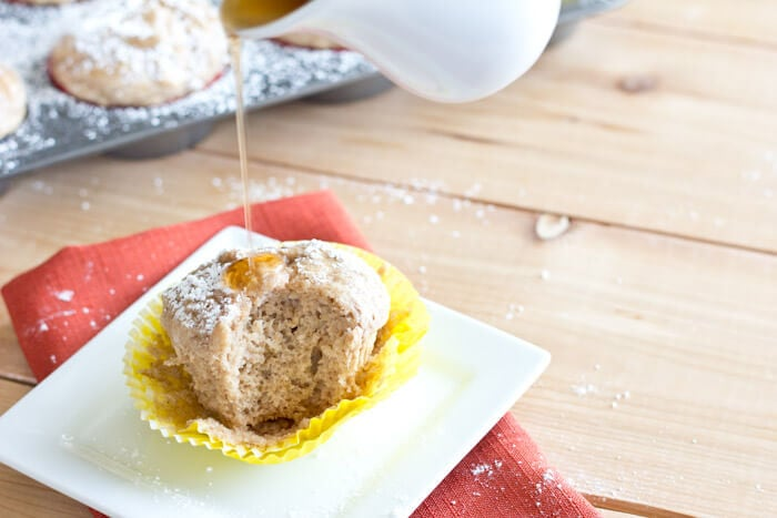 french toast muffins on a plate