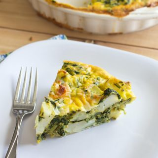 Indian Spiced Quiche