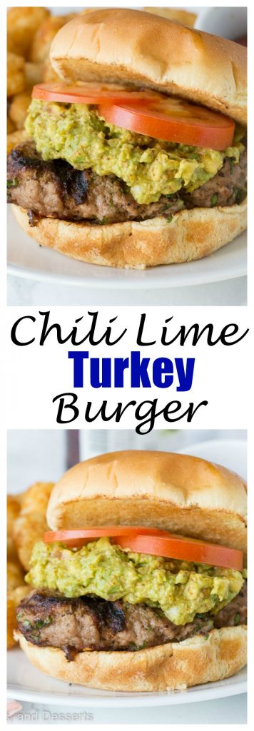 Chili Lime Turkey Burgers - Copycat version of Trader Joe's Chili Lime Burgers. Super easy, healthy, and great for summer grilling.