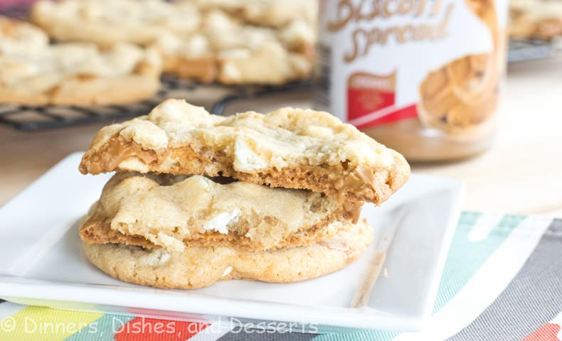Biscoff Crunch White Chocolate Chip Cookies Recipes — Dishmaps
