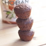 Double Chocolate Chobani Muffins