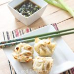 Asian Dumplings With Dipping Sauce