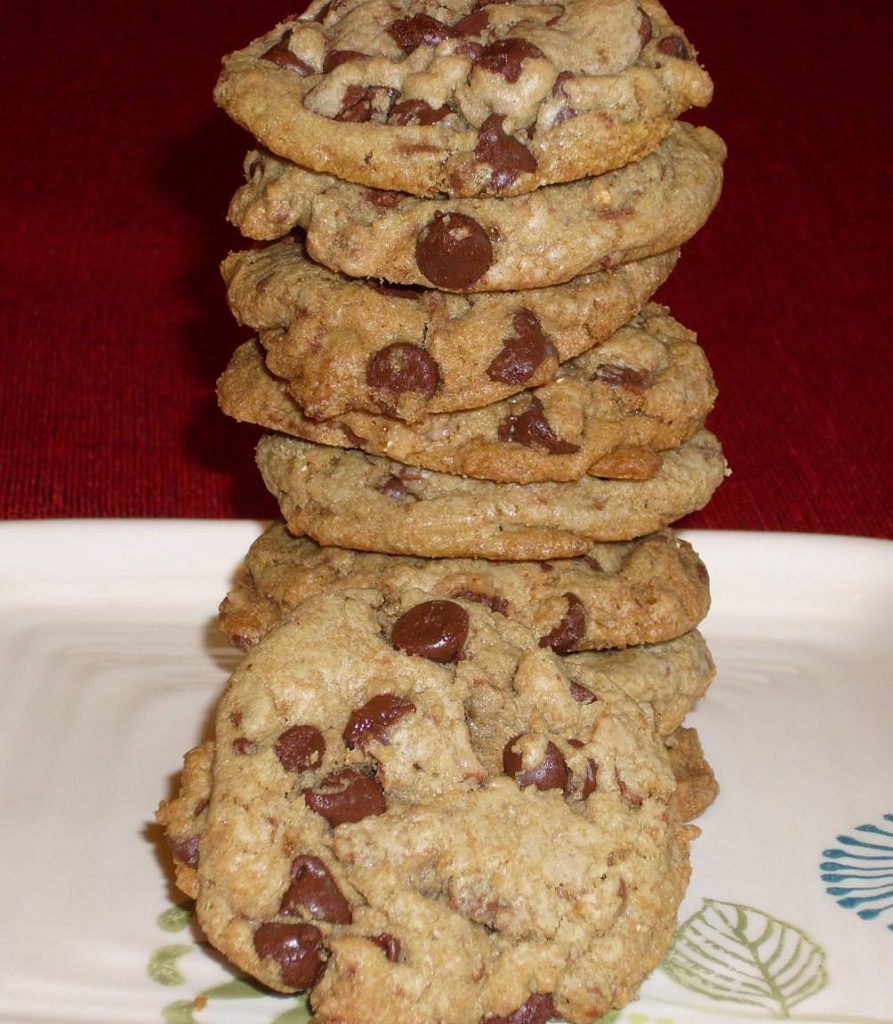 browned butter choco chip toffee cookies