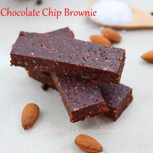 choco chip brownie bar