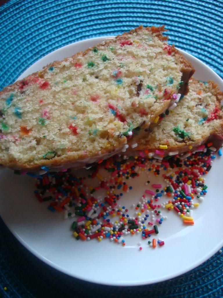 funfetti poundcake