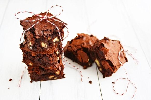Gluten Free Fudgy Pecan Brownies