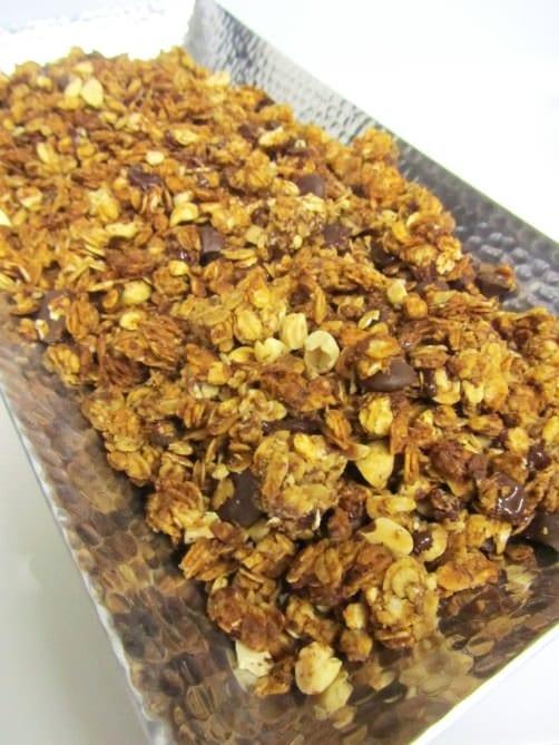 pb choc chip granolas