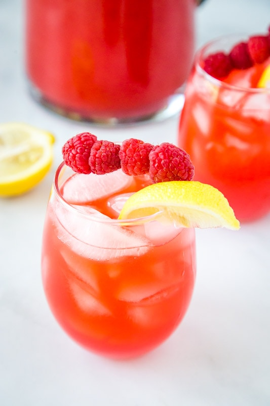 rasberry flavored lemonade