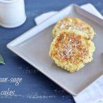 Parmesan-Sage Quinoa Cakes