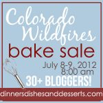 Colorado Wildfire Bake Sale