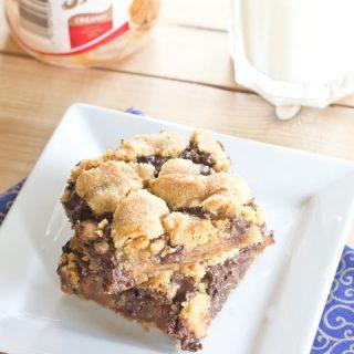 Biscoff Caramel Cookie Bars