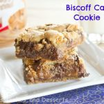 Biscoff Caramel Cookie Bars