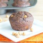 Chocolate Applesauce Muffins