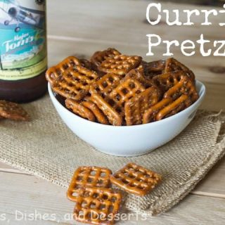 Curried Pretzels