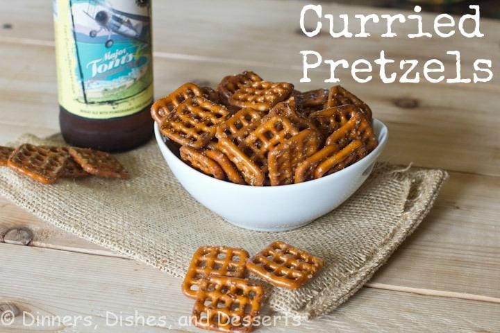 Curry Pretzels