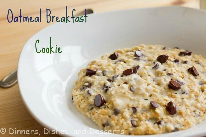 oatmeal breakfast cookie