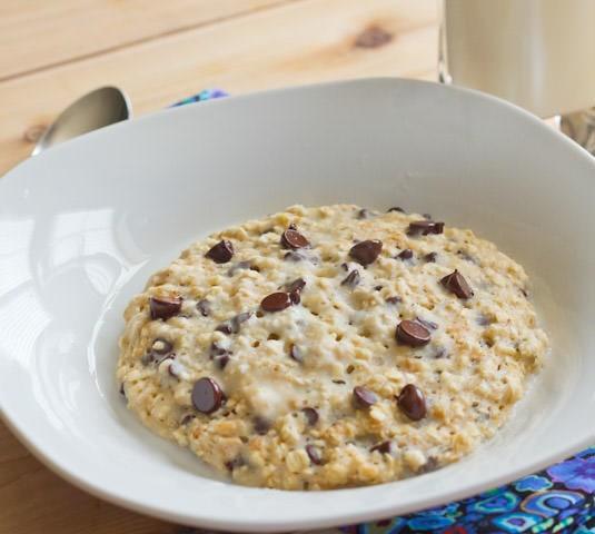oatmeal breakfast cookie in a bowl