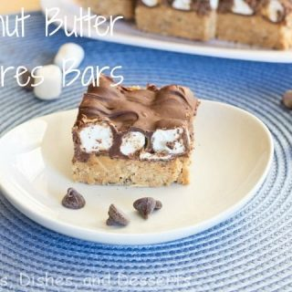 No Bake Peanut Butter S'mores Bars