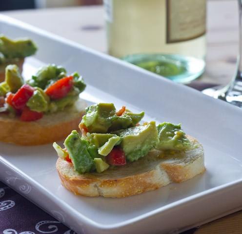 Avocado Bruschetta 3 square