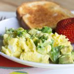 Avocado Scrambled Eggs 3 square