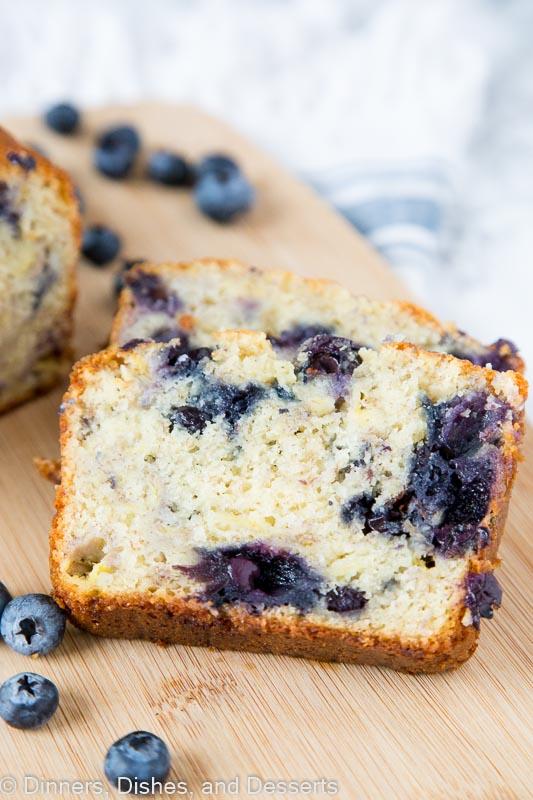 blueberry banana bread - easy banana bread recipe