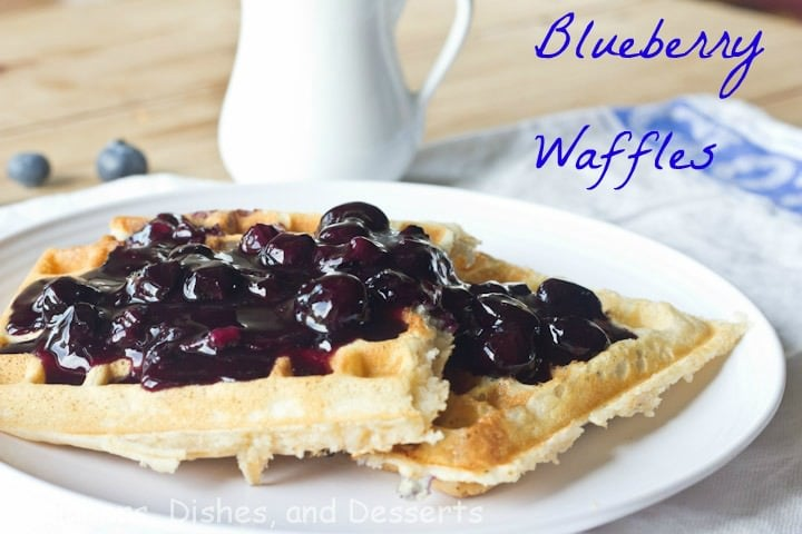 Blueberry Waffles