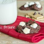 S'mores Brownie Cookies
