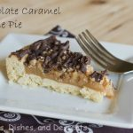 Chocolate Caramel Cookie Pie